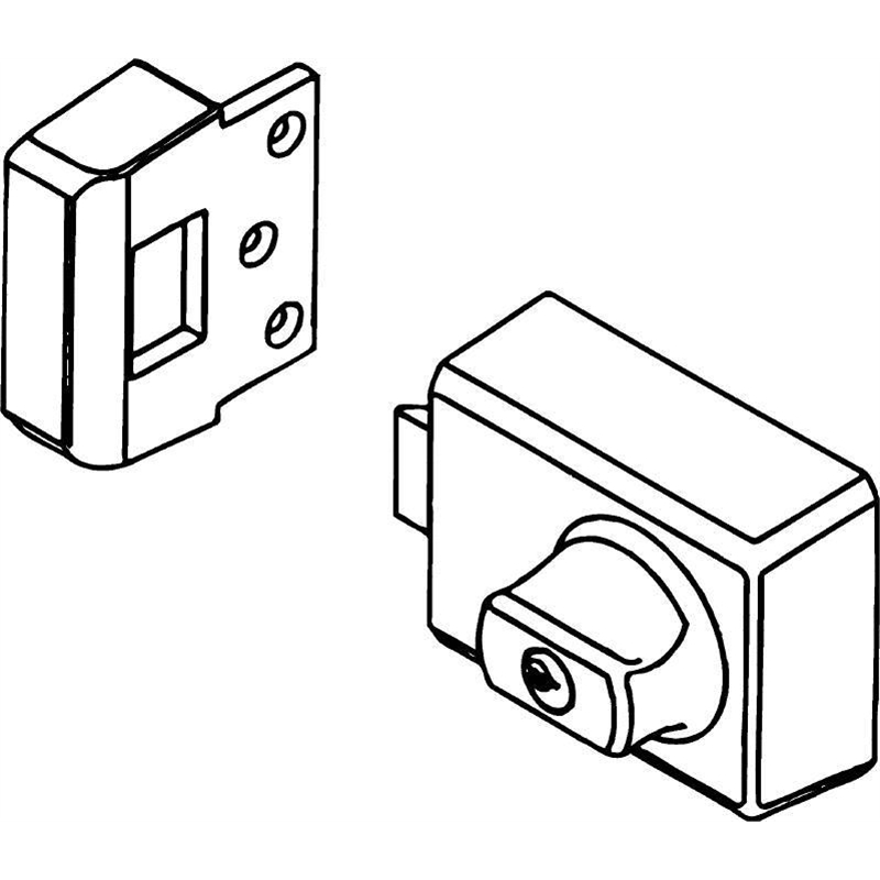 lockwood deadlatch installation instructions