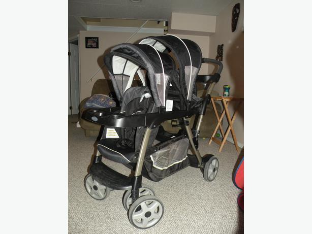Graco ready2grow double stroller manual