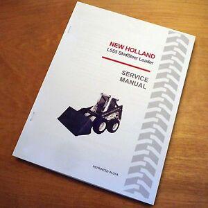 New holland lx865 turbo service manual