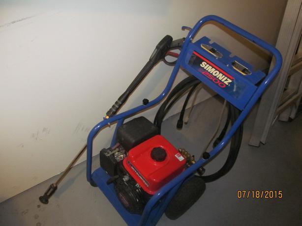 Simoniz s2000 pressure washer manual