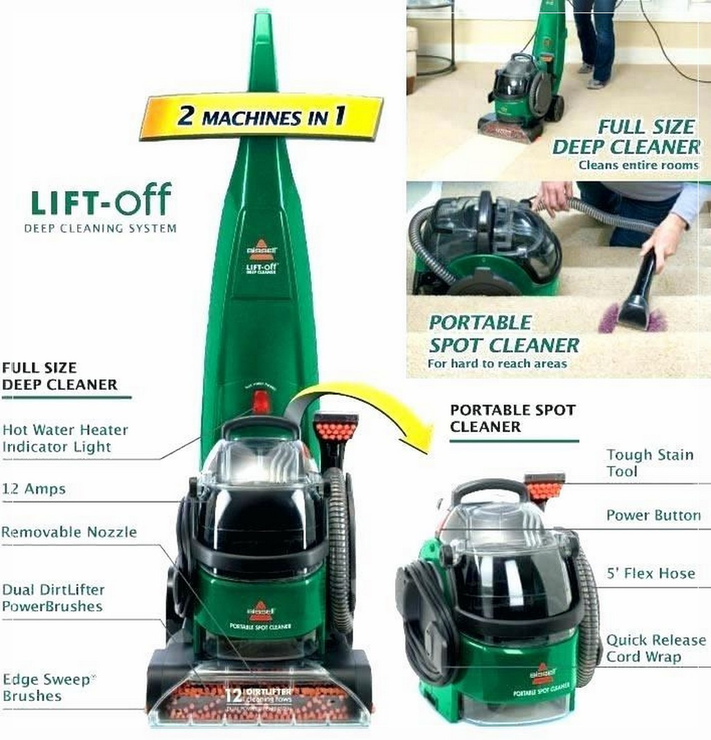 bissell proheat 2x lift off manual