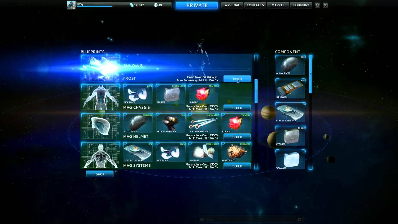 Warframe how to get new weapons