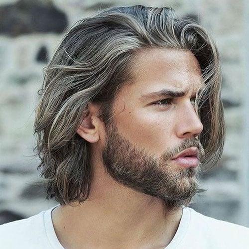 Men how to grow long hiar