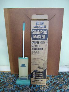 instructions for bex bissell carpet shampooer