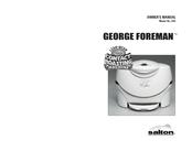 george foreman contact roasting machine manual