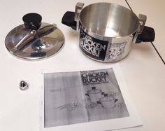 wearever chicken bucket instruction manual