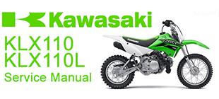 klx 300 service manual free