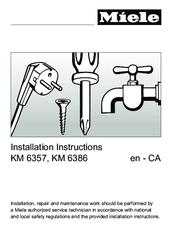miele integrated fridge installation instructions