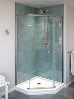 delta neo angle shower base installation instructions