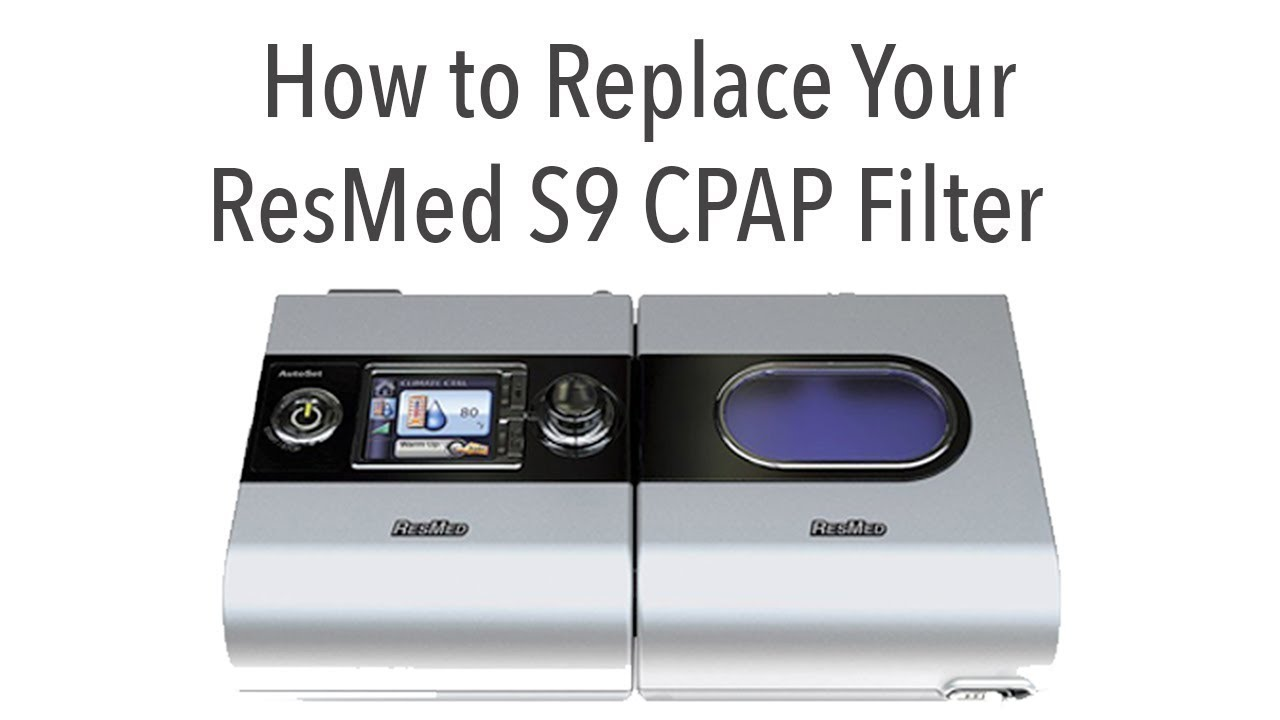 resmed cpap filter replacement instructions