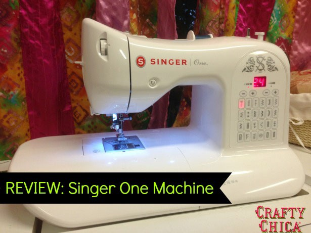 Singer one sewing machine manual