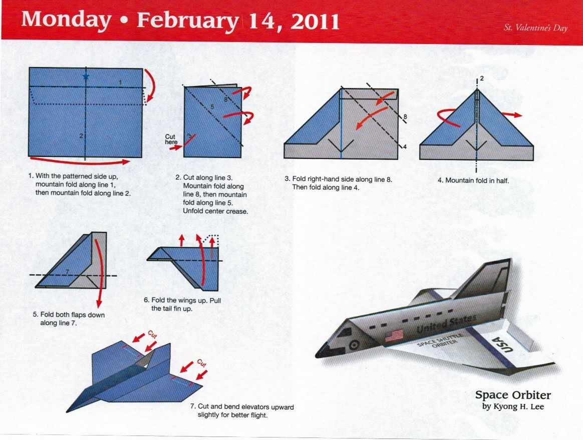 nighthawk paper airplane instructions