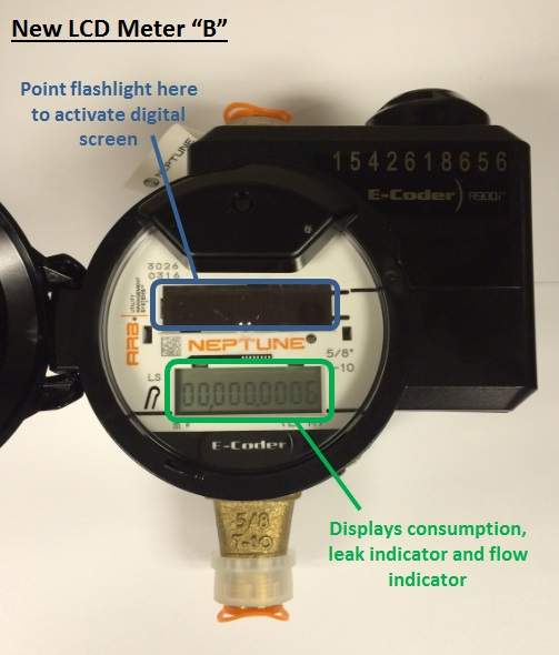 Richmond bc how to read water meter