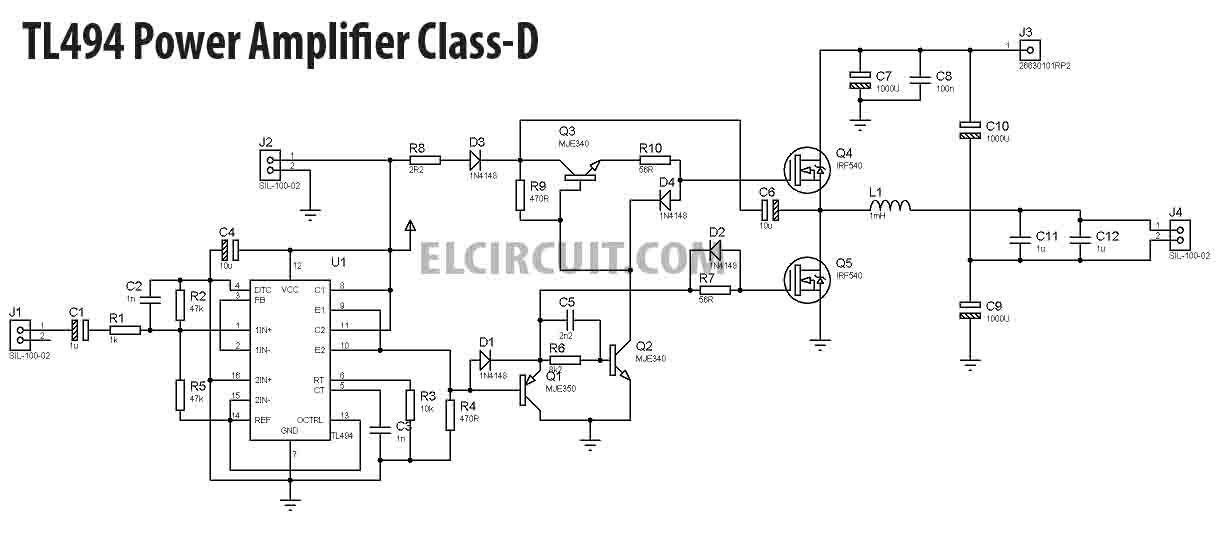 Class d power amplifier pdf