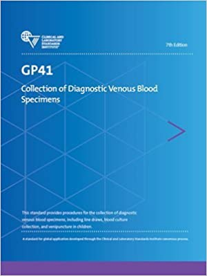 Blood culture collection guidelines clsi
