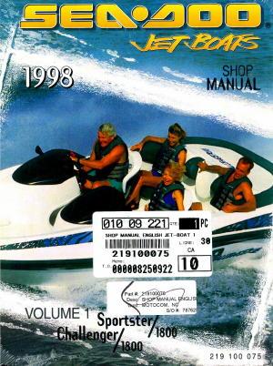 2001 seadoo challenger 1800 service manual
