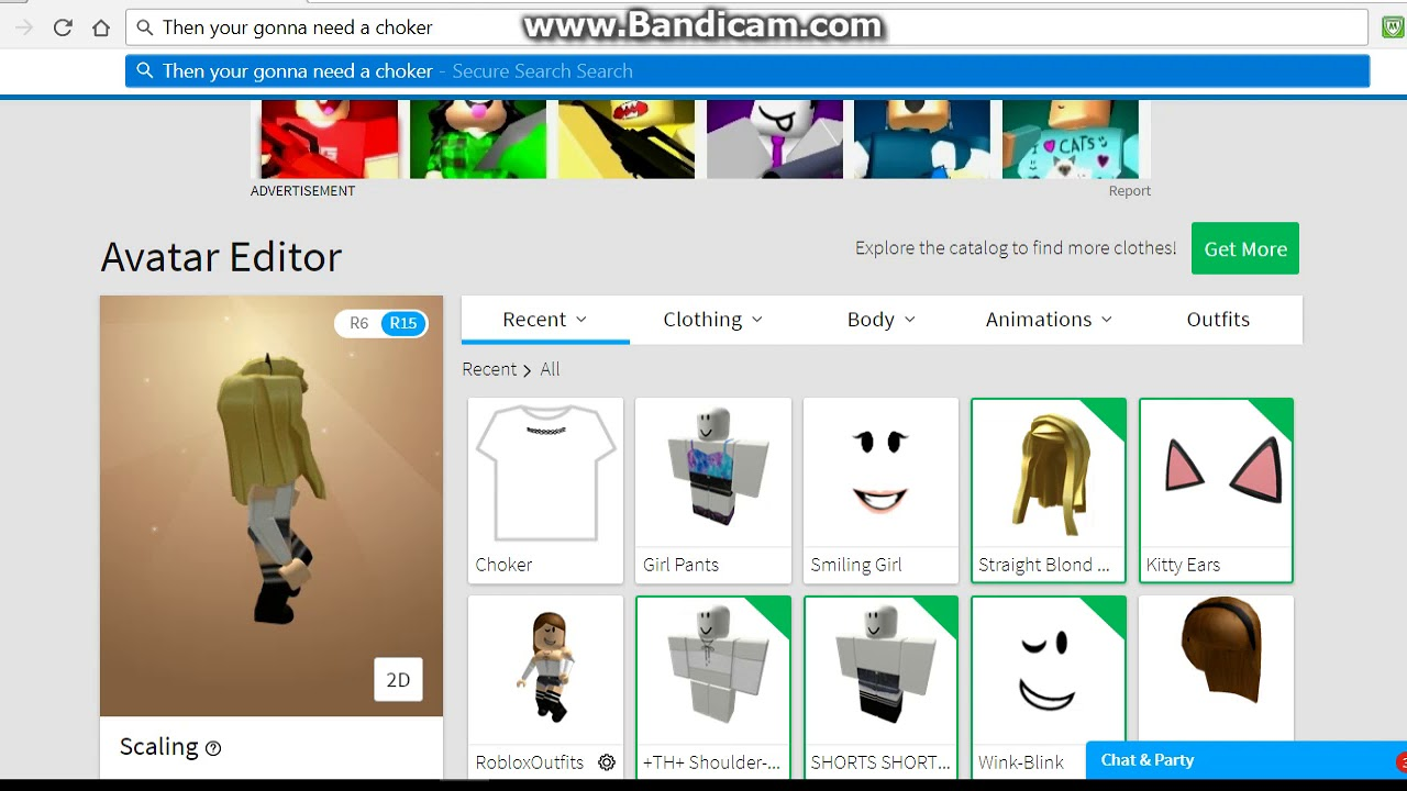 Roblox how to look like a nerd