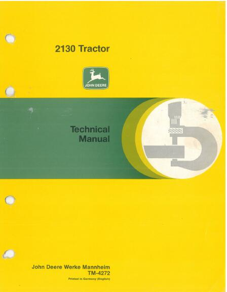 john deere 2130 manual download