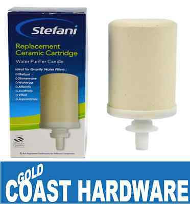 stefani ceramic water purifier instructions