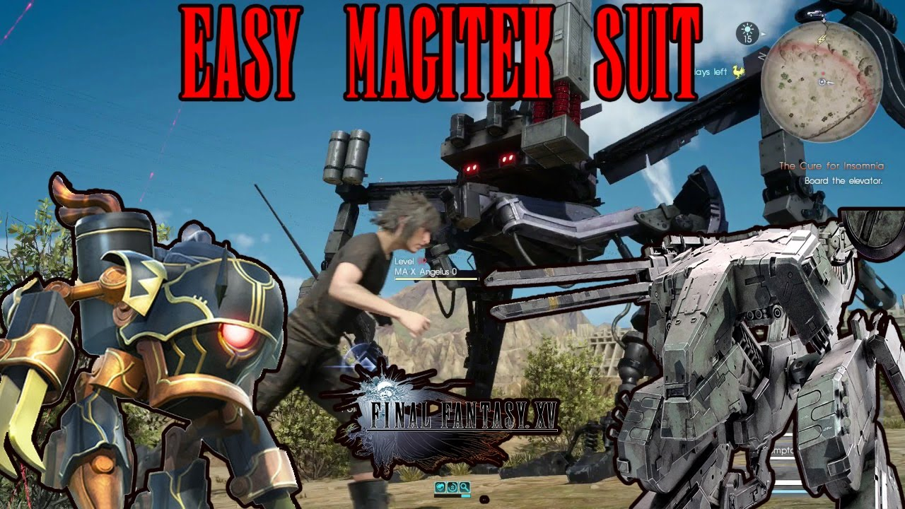 Ff15 how to get magitek suit