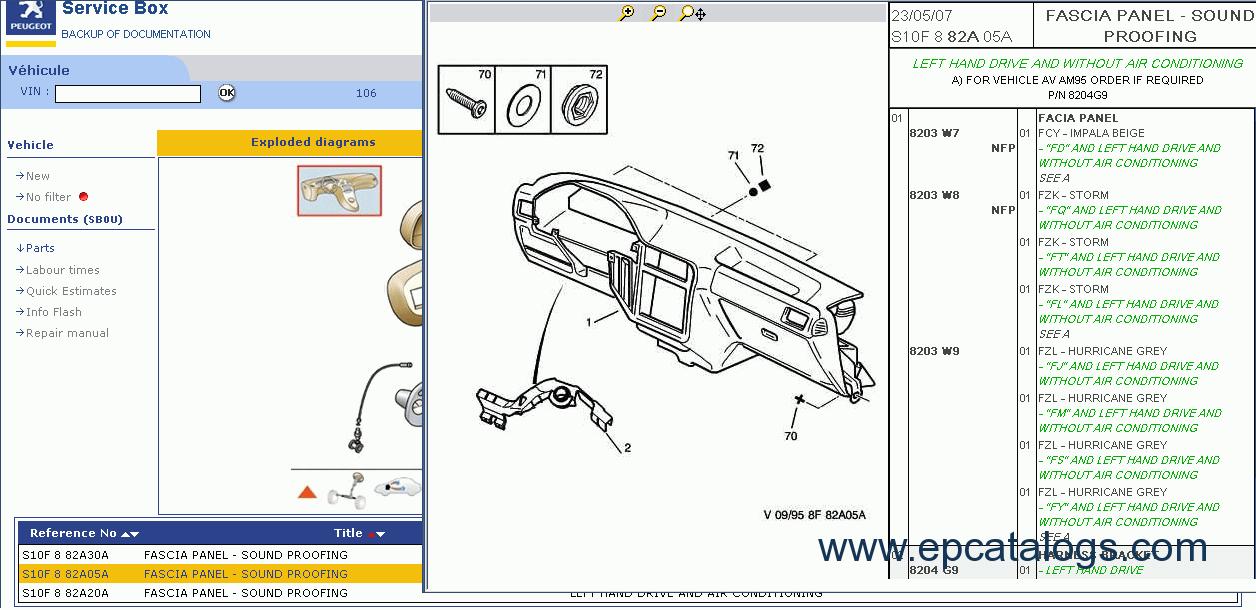peugeot 308 cc workshop manual
