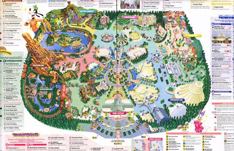 Disneyland paris map 2018 pdf