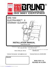 Bruno elan sre 3000 installation manual