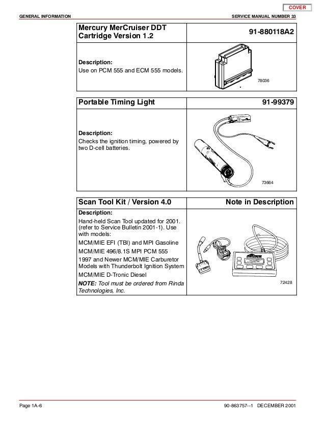 mercruiser 496 mag service manual