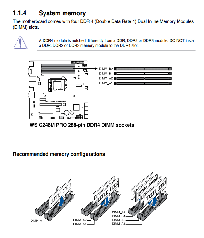 asus p5ql-em manual memory config