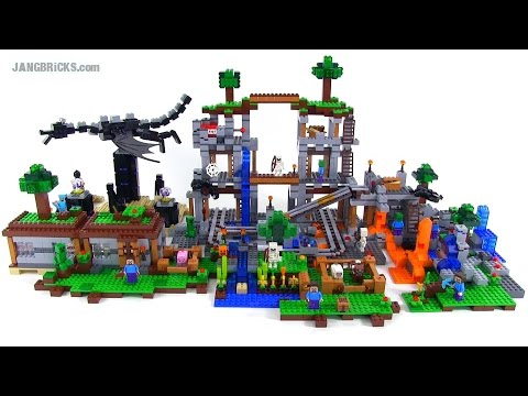 instructions for lego minecraft sets