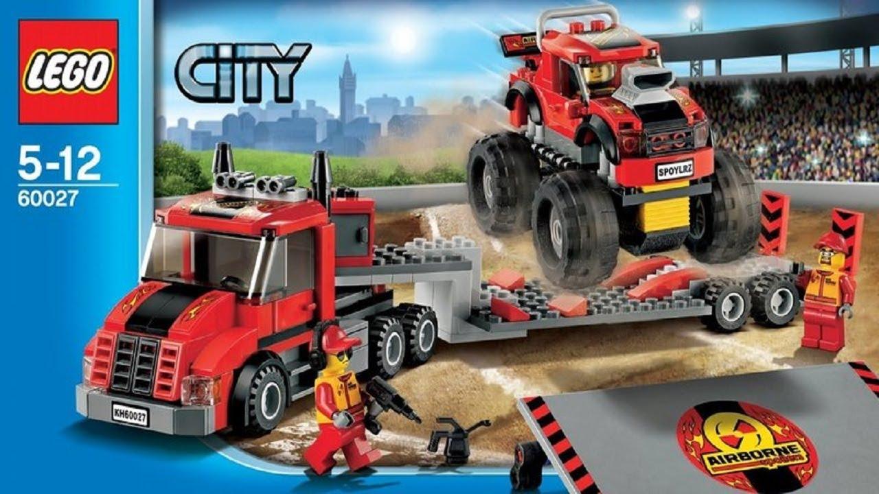 lego city monster truck instructions