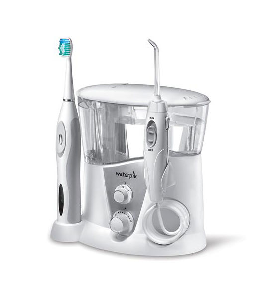 water pik flosser and sonic brush instructions