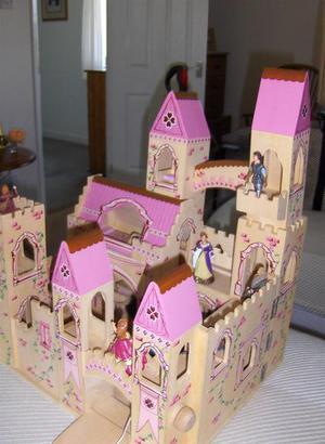 elc pink fairy castle instructions