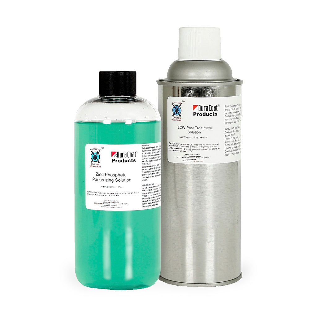 zinc phosphate parkerizing instructions