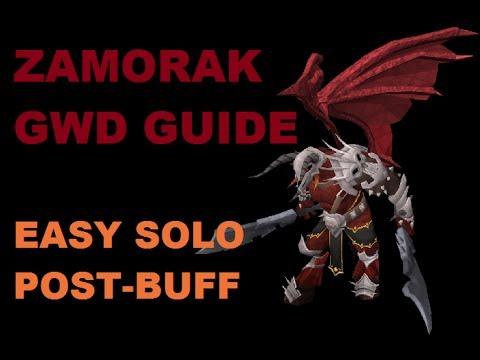 Zamorak god wars solo guide