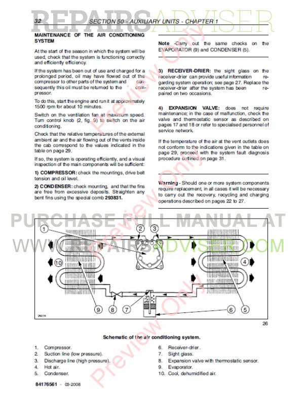 new holland td5050 service manual