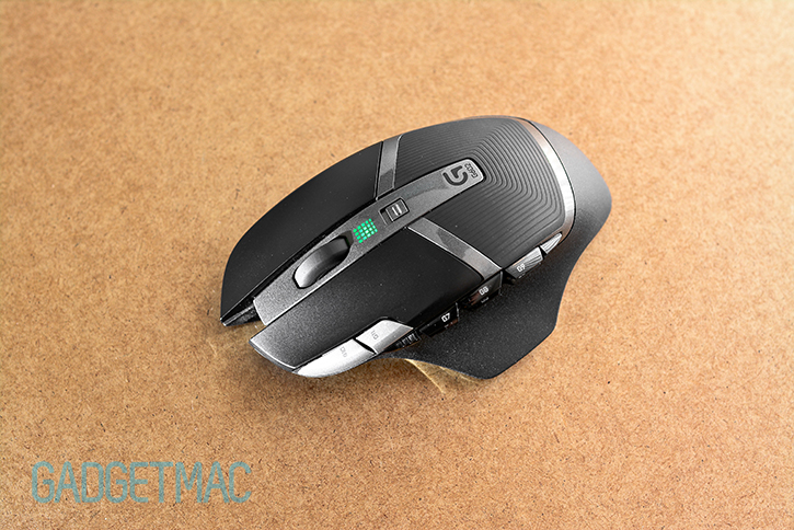 Logitech g602 how to show battery level