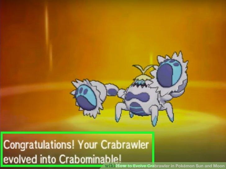 Pokemon sun and moon how to catch crabrawler