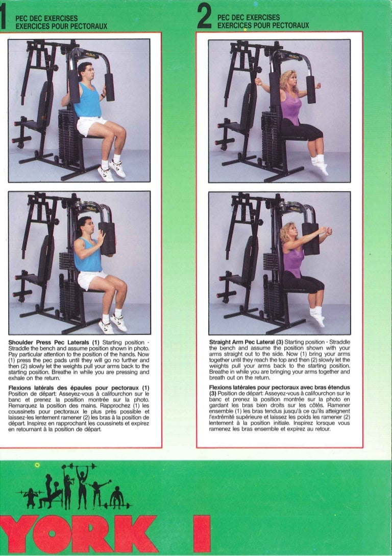 york 401 gym assembly instructions