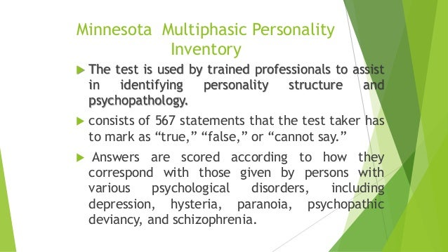 Psychopathic personality inventory test pdf