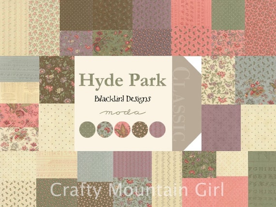 Hyde park blackbird designs pdf