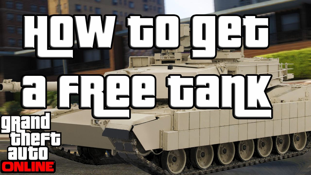 Gta 3 how to get a tank