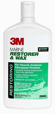 3m marine restorer and wax instructions