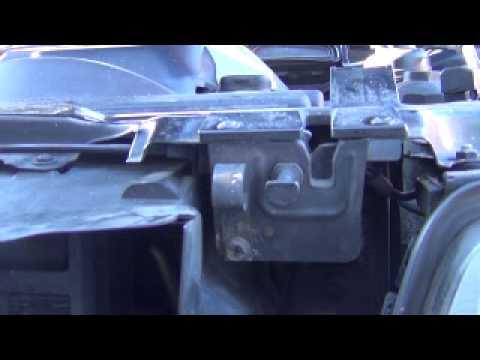 Bmw x5 how to open hood