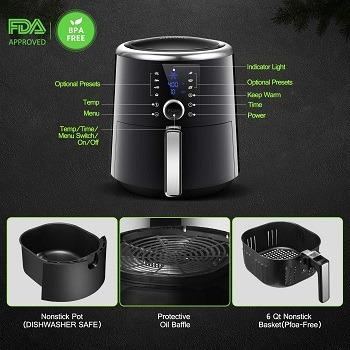 Healthyfry xl air fryer manual
