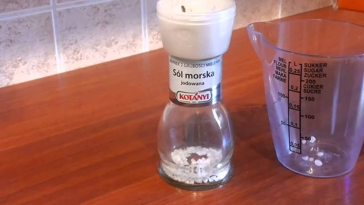 Carmencita salt grinder how to open