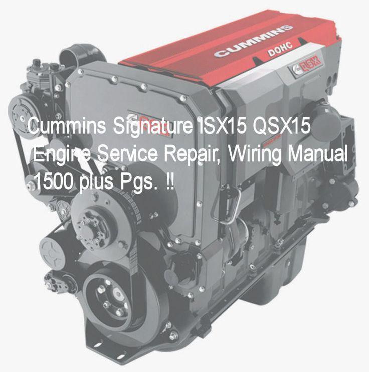 Cummins isx engine manual pdf