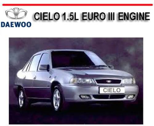 daewoo cielo 1996 workshop manual