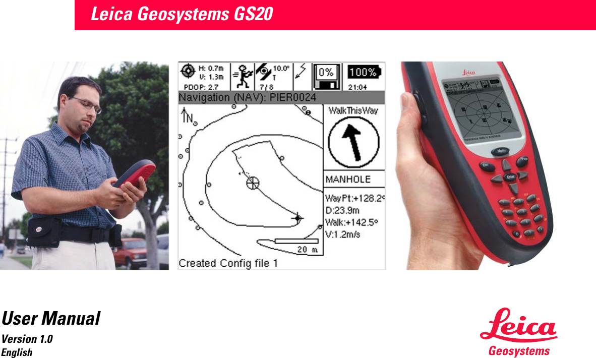 leica gps 1200 user manual