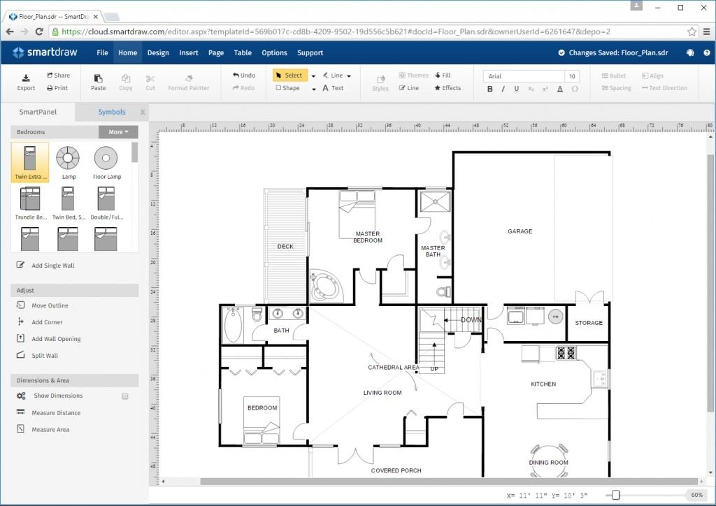 Can i import a pdf plan to smart draw